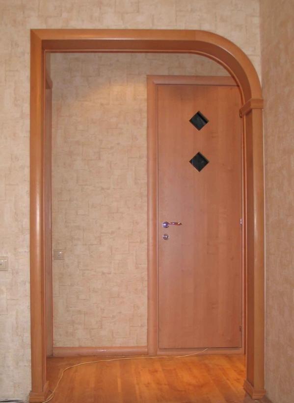 Как самим сделать арки на двери