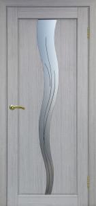 Дверь Сицилия 730 Серый дуб