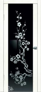 Дверь Сакура Сандал белый