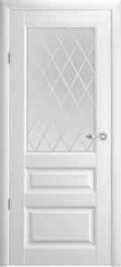 Дверь Эрмитаж 2 ДО Ромб Белый винил