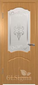 Дверь Сигма 32 ДО Миланский орех