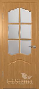 Дверь Сигма 32 ДР Миланский орех