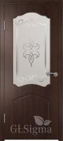 Дверь Сигма 32 ДО Венге