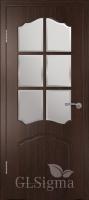 Дверь Сигма 32 ДР Венге