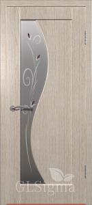 Дверь Сигма 52 ДО Белёный дуб