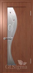Дверь Сигма 52 ДО Итальянский орех
