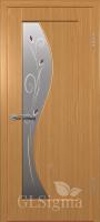 Дверь Сигма 52 ДО Миланский орех