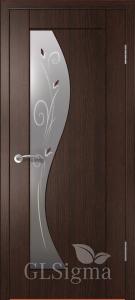 Дверь Сигма 52 ДО Венге