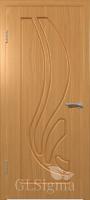 Дверь Сигма 81 ДГ Миланский орех