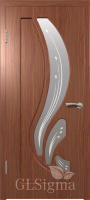 Дверь Сигма 82 ДО Итальянский орех
