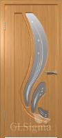 Дверь Сигма 82 ДО Миланский орех