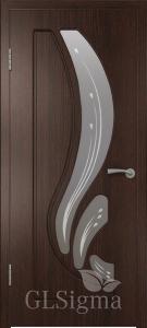 Дверь Сигма 82 ДО Венге