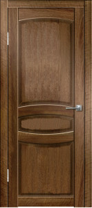 Дверь Гармония ДГ Орех тиснёный