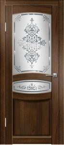 Дверь Гармония ДО Орех тиснёный