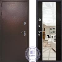 Дверь Квадра Зеркало Венге