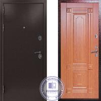 Дверь Квадра Термо Золотистый дуб