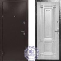 Дверь Квадра Термо Белёный дуб