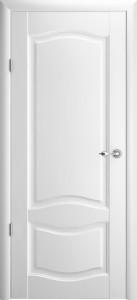 Дверь Лувр ДГ Белый винил
