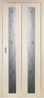 Дверь-книжка Парма 401 Тюльпан Белёный дуб