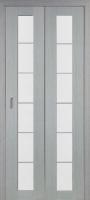 Дверь-книжка Турин 501.2 АСС Серый дуб