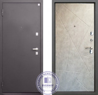 Дверь Алмаз Турмалин Бетон